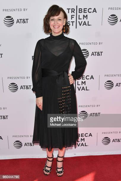 Rosemarie DeWitt attends the screening of Song Of Back And Neck during the 2018 Tribeca Film Festival at SVA Theatre on April 23 2018 in New York City