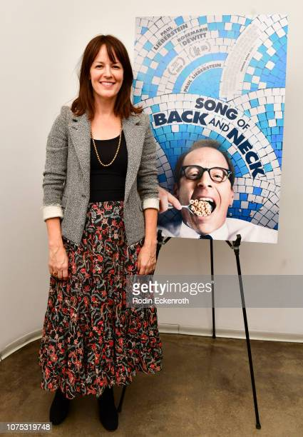 Rosemarie DeWitt attends the Song of Back and Neck Special Screening and QA at Laemmle's Monica Film Center on November 30 2018 in Santa Monica...