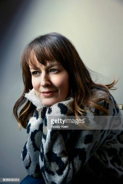 Rosemarie DeWitt from the film 'Arizona' poses for a portrait at the YouTube x Getty Images Portrait Studio at 2018 Sundance Film Festival on January...