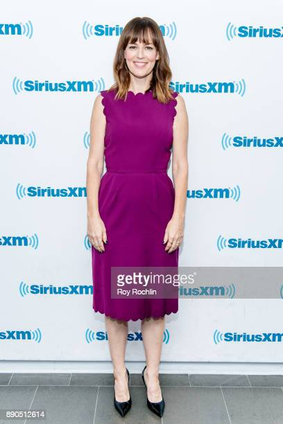 Rosemarie DeWitt visits 'Andy Cohen Live' hosted by Andy Cohen on his exclusive SiriusXM channel Radio Andy at SiriusXM Studios on December 11 2017...