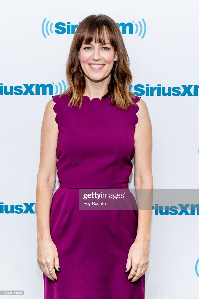 Rosemarie DeWitt visits 'Andy Cohen Live' hosted by Andy Cohen on his exclusive SiriusXM channel Radio Andy at SiriusXM Studios on December 11, 2017 in New York City.