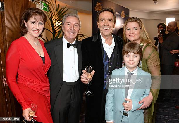Rosemarie Ford Des O'Connor Robert Lindsay Jodie Brooke Wilson and son Adam O'Connor attend an after party following the press night performance of...
