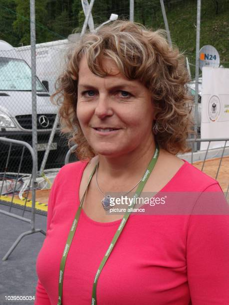 Rosemarie Pamer, mayor of St. Martin, pictured in St. Martin, Italy, 27 May 2014. Two people were injured in a car accident during a sponsor event at...