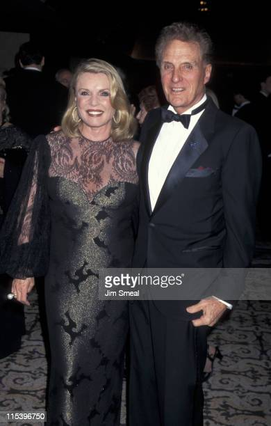 Rosemarie Stack and Robert Stack during LAPD 126th Anniversary Celebration and 2nd Annual Jack Webb Awards at Century Plaza Hotel in Los Angeles...