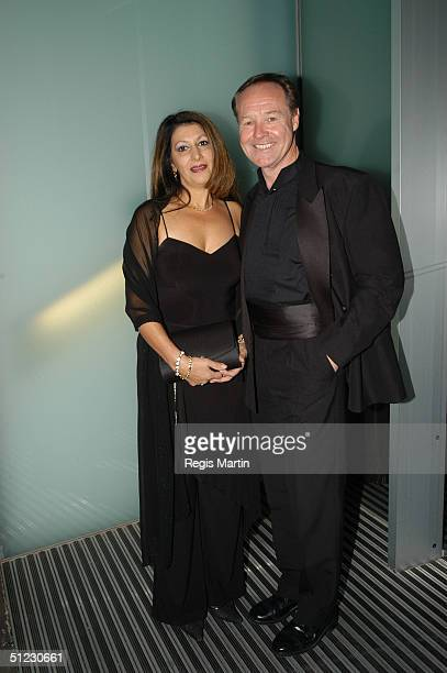 Rosemarie Stuhlener and fiance Australian actor Ken James attends the Gala Decadence Dinner at Zinc August 28 2004 in Melbourne Australia