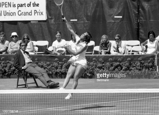 Rosemary Casals, who never truly capitalized on her great potential, bows out of the US Open as she loses to Russia's Marina Kroshina. The slow clay...