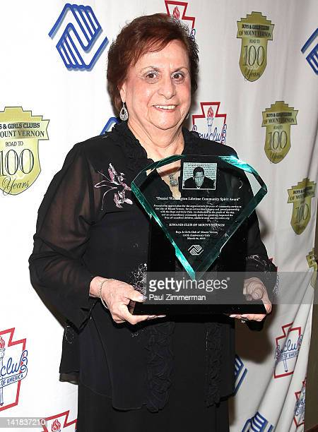 Rosemary Cornacchio attends the Boys Girls Club of Mount Vernon 100th Anniversary Gala at the Rye Town Hilton on March 24 2012 in Rye Brook New York