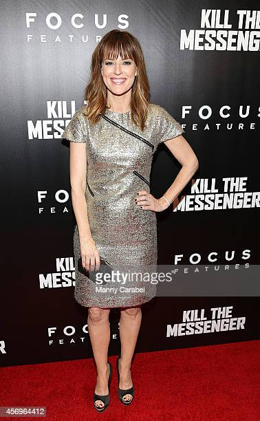Rosemary DeWitt attends the red carpet for the New York Premiere of Kill The Messenger at Museum of Modern Art on October 9 2014 in New York City
