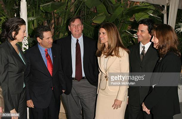 Rosemary Ellis Maria Shriver Dr Arthur Agatston Dr Kelly Brownell Dr Bruce Hensel and Dr Francine Kaufman attend Novo Nordisk and the Entertainment...