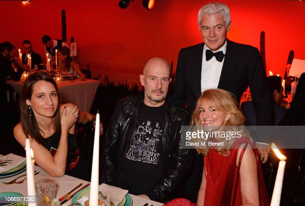 Rosemary Ferguson Jake Chapman Avery Agnelli and John Frieda attend the gala dinner in honour of Stella McCartney winner of the Global VOICES Award...