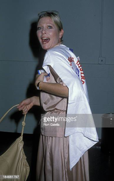 Rosemary Forsyth attends 14th Annual Jerry Lewis Multiple Sclerosis Telethon on September 2 1979 in Los Angeles California