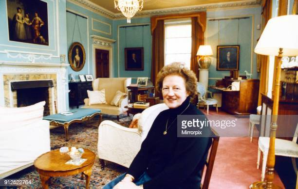 Rosemary Gillett National Trust Director at Ormesby Hall 25th March 1992