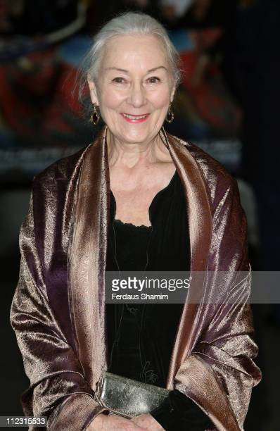 """Rosemary Harris during """"Spider-Man 3"""" London Premiere - Red Carpet at Odeon Leicester Square in London, United Kingdom."""