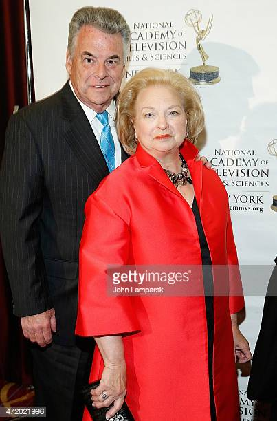 Rosemary King and Congressman Peter King attend 58th Annual New York Emmy Awards at Marriott Marquis Times Square on May 2 2015 in New York City
