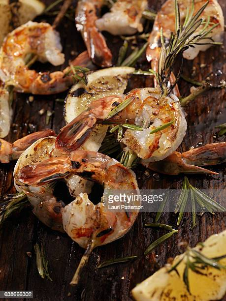 Rosemary Shrimp Skewers