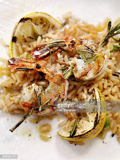 BBQ Rosemary Shrimp Skewers