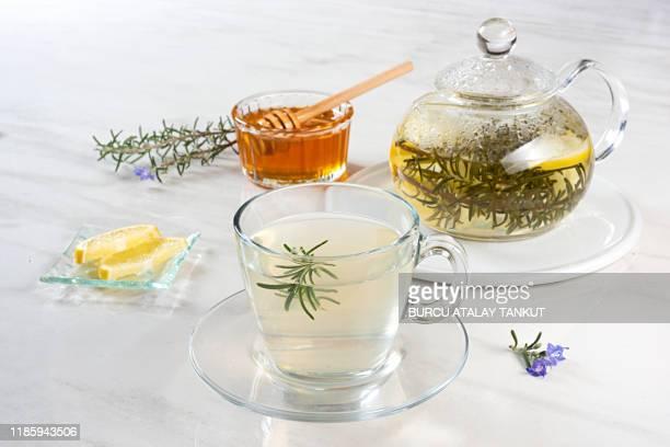 rosemary tea - ローズマリー ストックフォトと画像