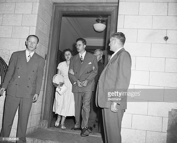 Rosenbergs Held In $100000 Bail Each In Spy Case at Federal Court Mrs Ethel Greenglass Rosenberg and her husband Julius Rosenberg was arraigned...
