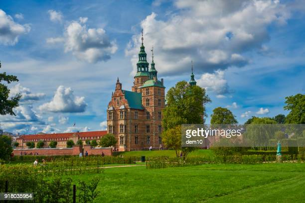 rosenborg castle and the king's garden - history stock pictures, royalty-free photos & images