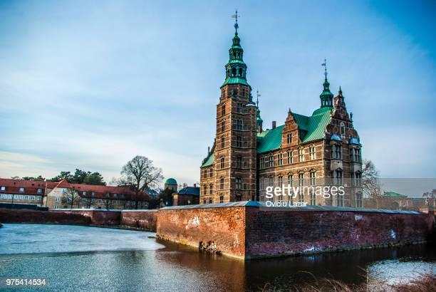 rosenborg castle - castello foto e immagini stock