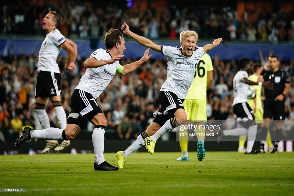 FBL-EUR-C1-ROSENBORG-DINAMO ZAGREB : News Photo