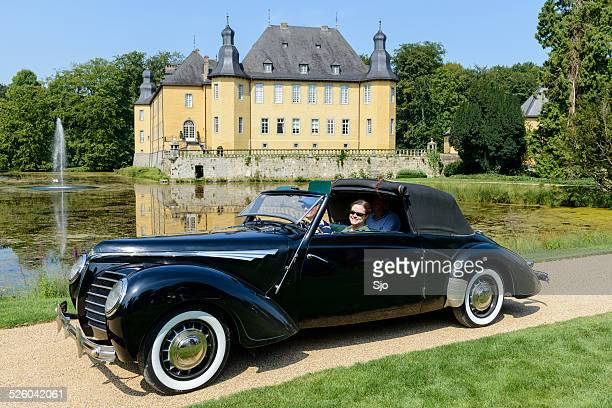 "rosengart supertraction cabriolet - ""sjoerd van der wal"" or ""sjo"" stock pictures, royalty-free photos & images"