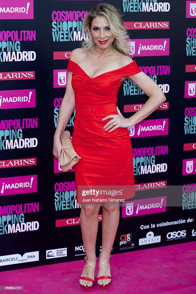 Roser attends the 'Cosmopolitan Shopping Week' party at the Plaza de Callao on May 28, 2013 in Madrid, Spain.