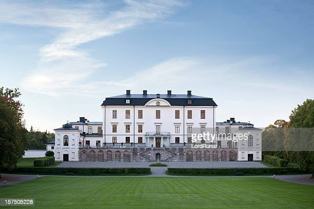 rosersberg palace - royalty sweden stock photos and pictures