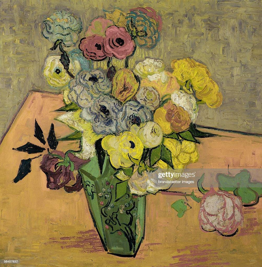 Vincent van gogh photos and images getty images roses et anemones oil on canvas june 1890 artist vincent van reviewsmspy