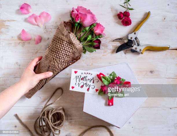 roses, gift, mother's day - mother's day stock pictures, royalty-free photos & images