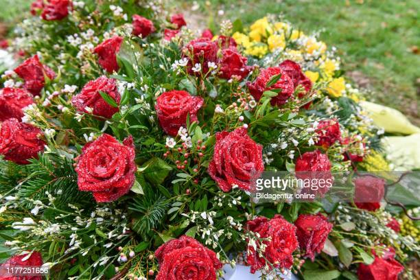 Roses grave Germany Rosen Grab Deutschland
