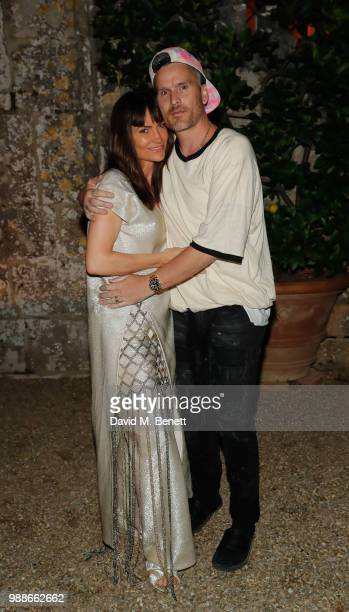 Rosetta Getty and Balthazar Getty attend the third annual Tuscany weekend at Villa Cetinale on June 30 2018 in Italy