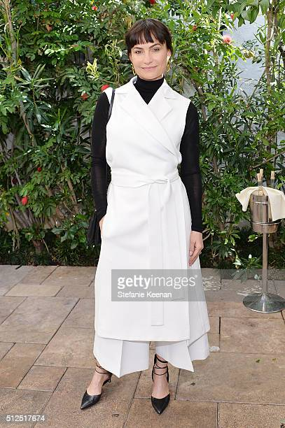 Rosetta Getty attends NETAPORTER Celebrates Women Behind The Lens at Chateau Marmont on February 26 2016 in Los Angeles California