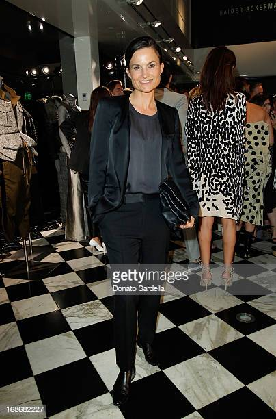 Rosetta Getty attends Saks Fifth Avenue Honors Haider Ackermann at Mr Chow on May 9, 2013 in Beverly Hills, California.