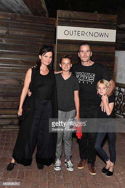 Rosetta Getty Balthazar Getty and children attend Kelly Slater John Moore and Friends Celebrate the Launch of Outerknown at Private Residence on...