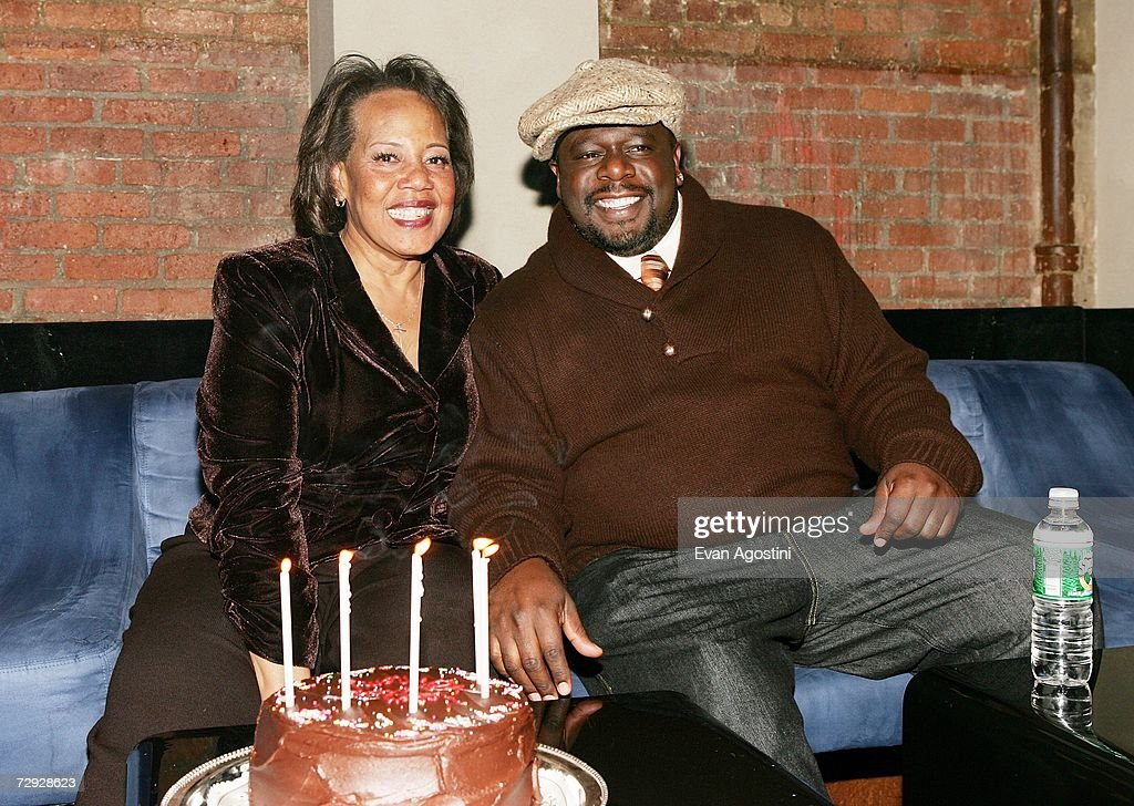 Rosetta Kyles celebrates her birthday with her son Cedric The Entertainer at the 'Code Name: The Cleaner' premiere after party at Pacha, January 04, 2007 in New York City.
