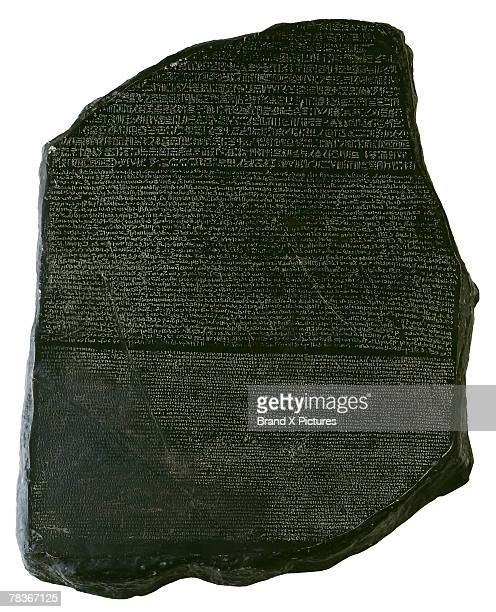 rosetta stone - linguistics stock pictures, royalty-free photos & images