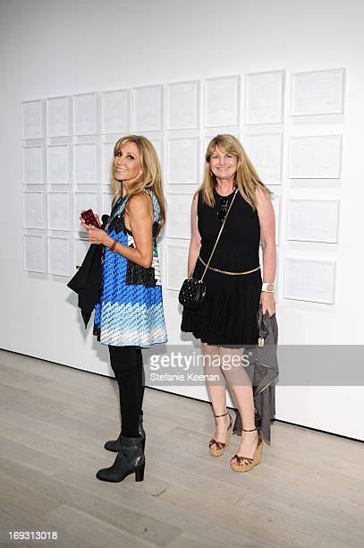 Rosette Delug and Marilyn Heston attend LACMA Celebrates Opening Of James Turrell A Retrospective at LACMA on May 22 2013 in Los Angeles California