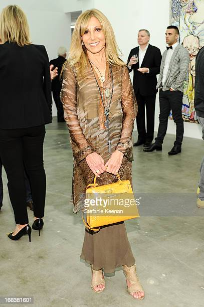 Rosette Delug attends the Takashi Murakami Private Preview at Blum Poe on April 11 2013 in Los Angeles California