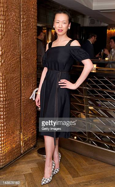 Rosey Chan arrives at the Carrera Liberatum Gala Dinner during the Liberatum Hong Kong International Festival of Culture press conference at the Kee...