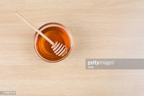 ロシュハシャーナ(ユダヤ教新年) - 蜂蜜 ストックフォトと画像
