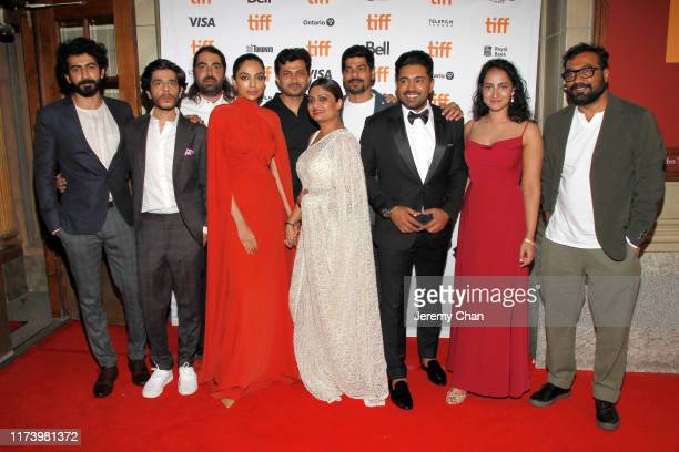 Roshan Mathew, Shashank Arora, Rif Dagher, Sobhita Dhulipala, Ajay Rai, Geetu Mohandas, S. Vinod Kumar, Nivin Pauly, Melissa Raju Thomas, and Anurag...