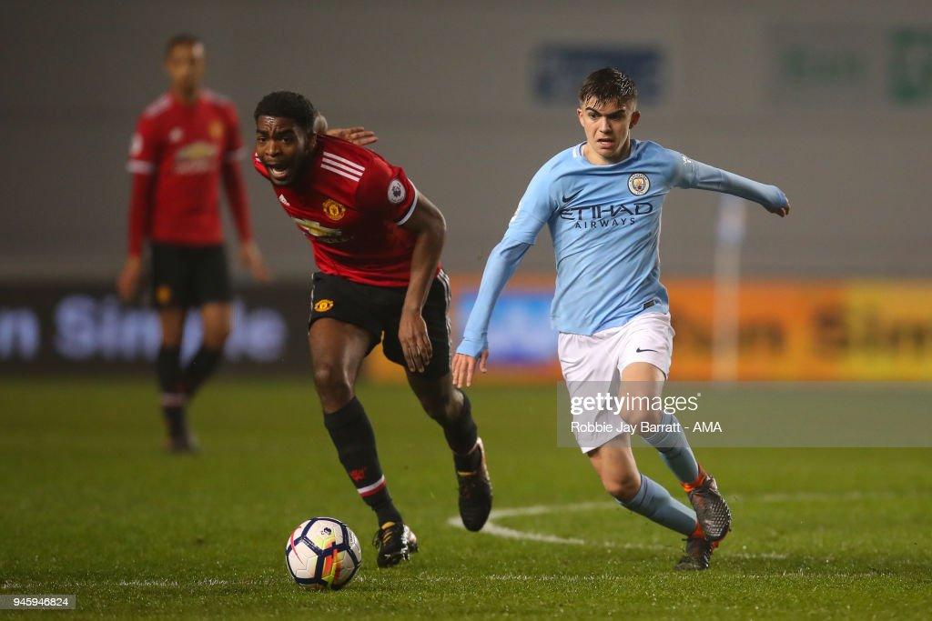 Manchester City v Manchester United - Premier League 2 : News Photo