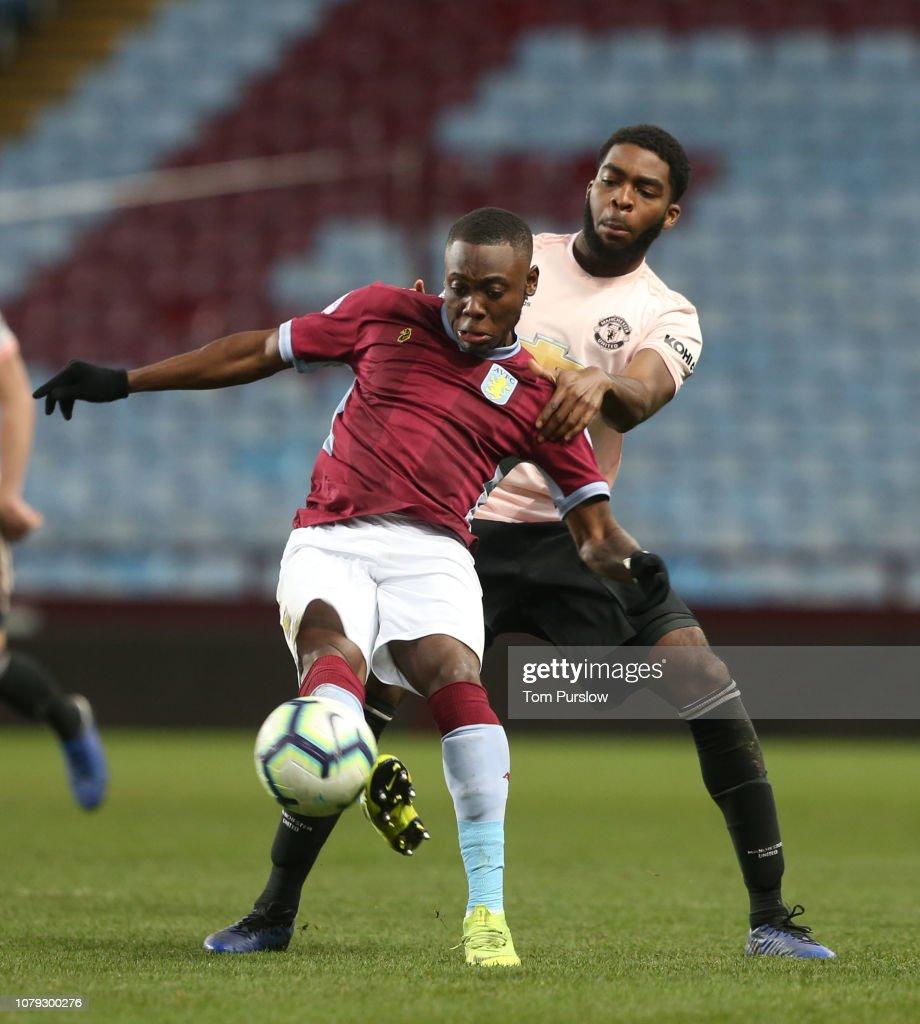 Aston Villa v Manchester United: Premier League 2 : News Photo