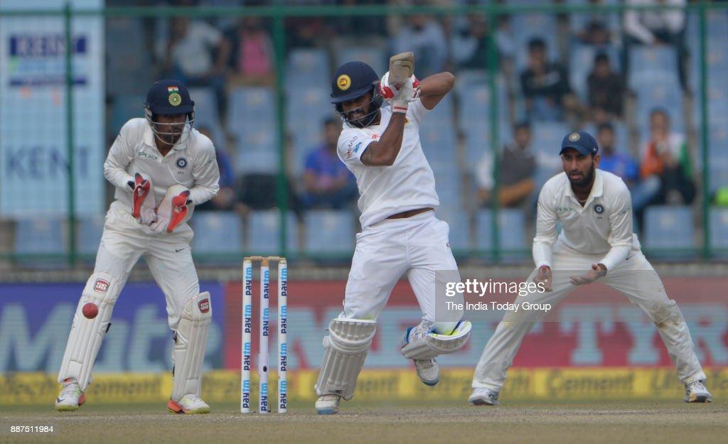 India vs Sri Lanka Third Test Match 2017 : News Photo