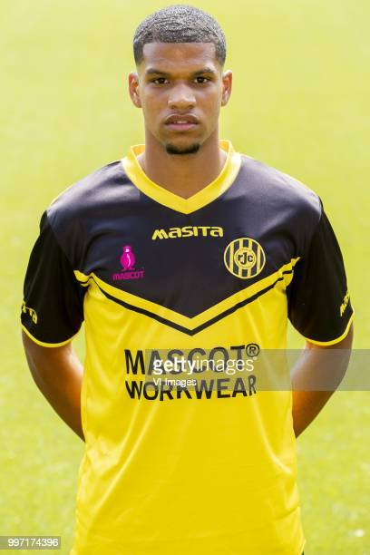 Roshon van Eijma during the team presentation of Roda jc on July 12 2018 at the Parkstad Limburg stadium in Kerkrade The Netherlands