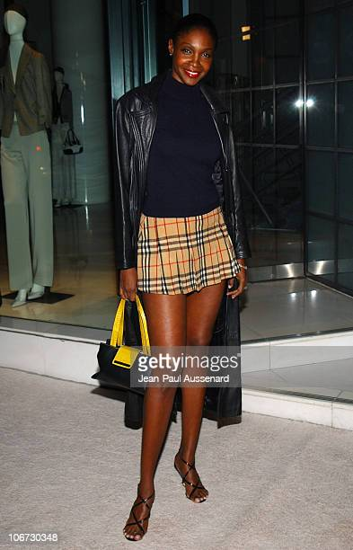 Roshumba Williams during VLIFE and Hermes Host the 1st Annual Oscar Contenders Party in Partnership with Aston Martin and Absolut at Hermes Boutique...