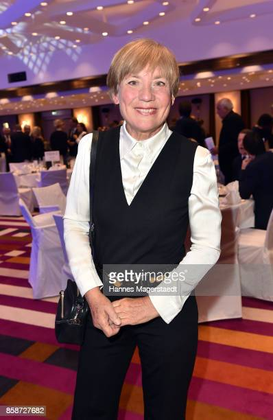 Rosi Mittermaier during the Felix Friends Charity Gala at Hotel Vier Jahreszeiten on October 7 2017 in Munich Germany