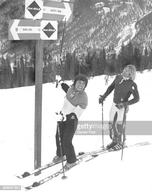 Rosi Returns to the Scene of Triumph Rosi Mittermaier the West German skier who won two gold medals in the 1976 Winter Olympics returned to Copper...