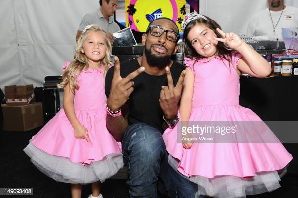 Rosie actor tWitch and Sophia Grace Brownlee attend day 2 of Backstage Creations Celebrity Retreat at Teen Choice 2012 at Gibson Amphitheatre on July...